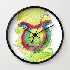 Taurus Flow Wall Clock