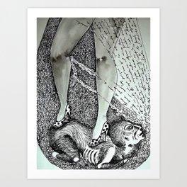 tacones lejanos Art Print