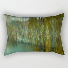 River Blau through the fisherman quarter Ulm Rectangular Pillow