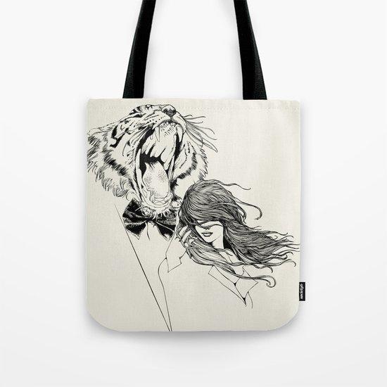 The Tiger's Roar Tote Bag