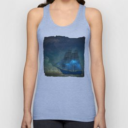 Ships and Stars Unisex Tank Top