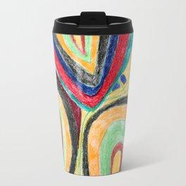 Rainbow Avocados Travel Mug
