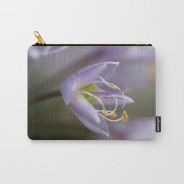 Delicate Purple Flowers Carry-All Pouch
