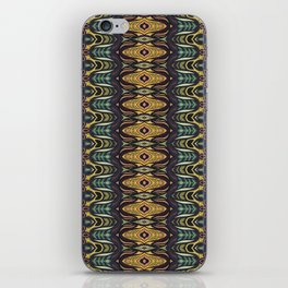 Colorful abstract ethnic floral mandala pattern design iPhone Skin