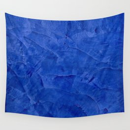 Pretty Blue Cases - Ombre - Stucco - Pillow - Classic Blue - Shower Curtains Wall Tapestry