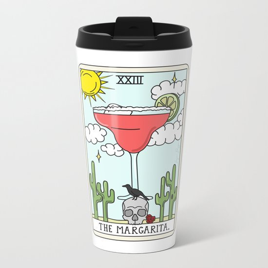 MARGARITA READING Metal Travel Mug