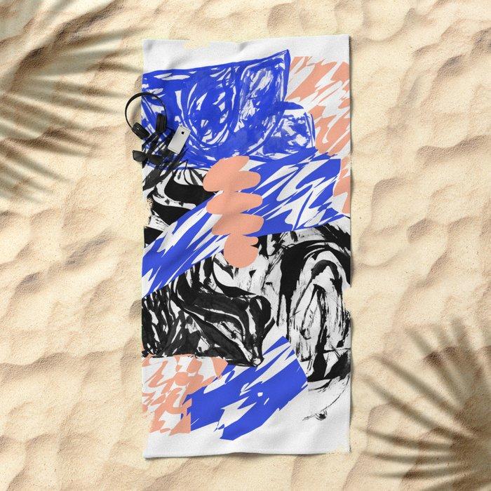 drugs1 Beach Towel