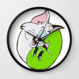 ripndip nermal jerry Wall Clock