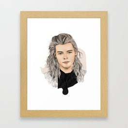 Harry silver Framed Art Print
