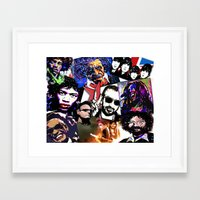 infamous Framed Art Prints featuring Infamous by FEENNX