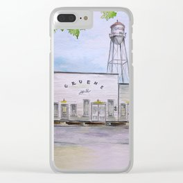 Gruene Hall - Oldest Dance Hall in Texas Clear iPhone Case