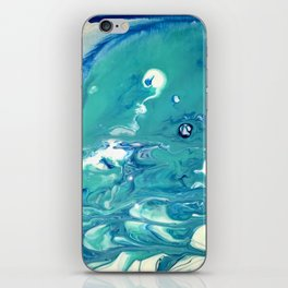 sea foam blown iPhone Skin