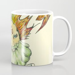 The man Behind the Sun Coffee Mug
