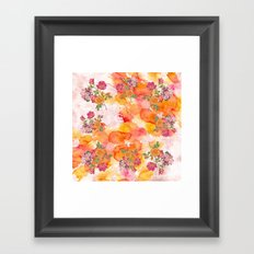 Ring a ring o' roses Framed Art Print