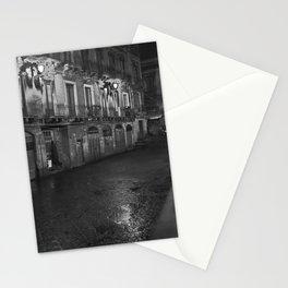 CATANIA NOTTE - SICILIA 2013 Stationery Cards