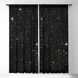 Space - Stars - Starry Night - Black - Universe - Deep Space Blackout Curtain