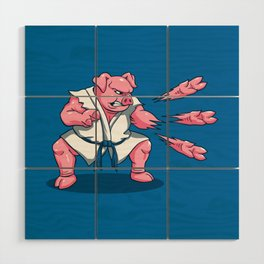 Pork Chops Wood Wall Art