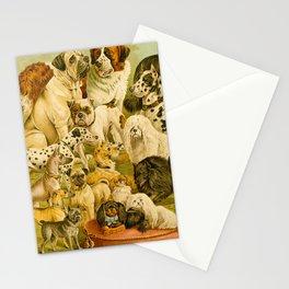 Dog Breeds Stationery Cards