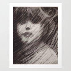 Rained Glass Art Print