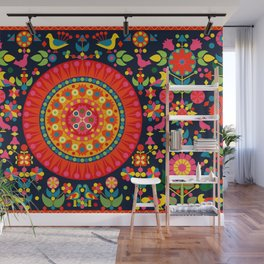 Wayuu Tapestry - I Wall Mural