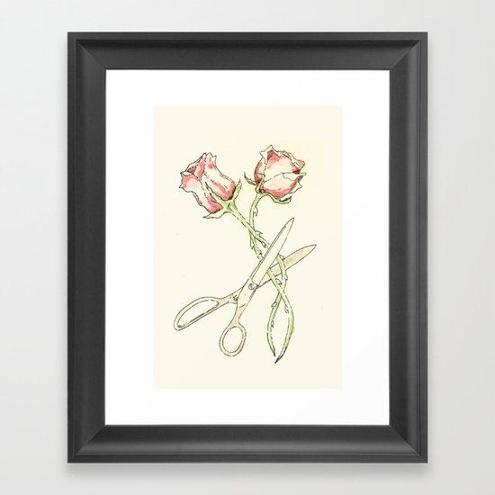 Scissor #13 Framed Art Print
