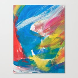 Abstract Artwork Colourful #4 Canvas Print