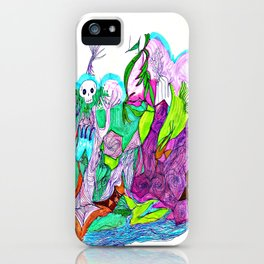 Fractal Landscape iPhone Case