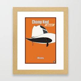 Champ Kind: Sports Framed Art Print