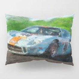 Ford GT 40, Gulf Pillow Sham