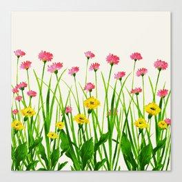 Wildflowers III Canvas Print