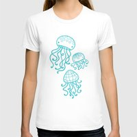 jellyfish T-shirts featuring Jellyfish by Liz Urso