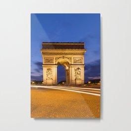 PARIS Arc de Triomphe Metal Print