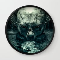 prometheus Wall Clocks featuring Prometheus by dracorubio