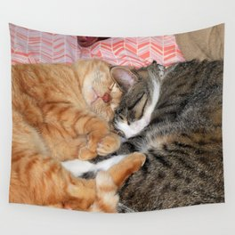 Nap Buddies Wall Tapestry