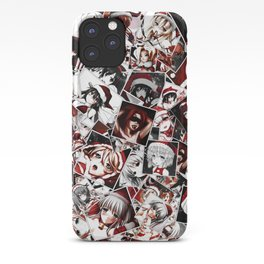 Christmas hentai iPhone Case