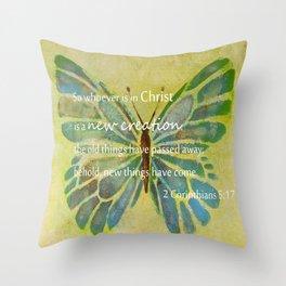 2 Corinthians 5:17 Throw Pillow