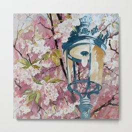 Paris in Spring Metal Print