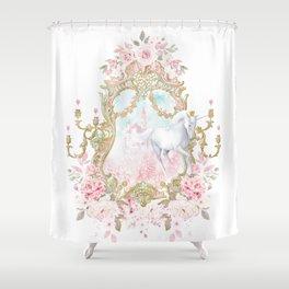 Unicorn Fairy Tale Enchantment Shower Curtain
