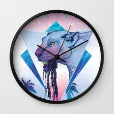 Endless Palm Wall Clock