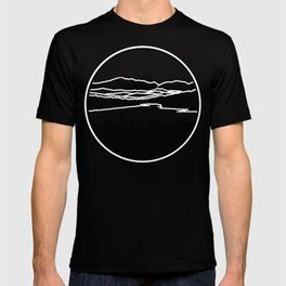 Lafayette and Franconia Notch from Shadow Lake T-shirt