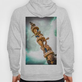 Maori Totem Pole Hoody