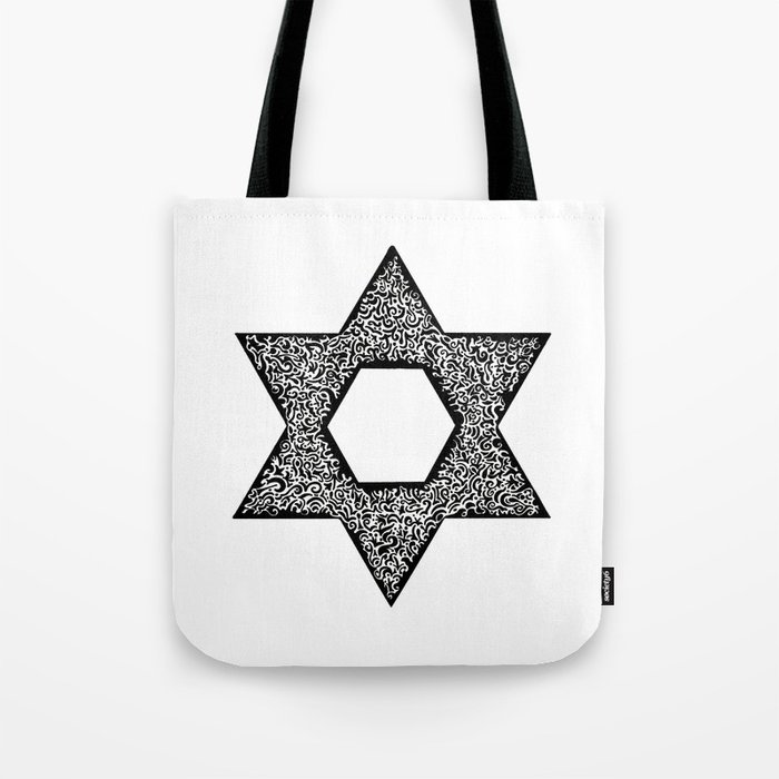 Star of David (Jewish star) Tote Bag