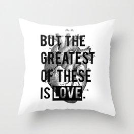 Heart. Throw Pillow