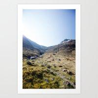 Morning Hike Art Print
