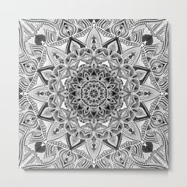 detailed mandala Metal Print