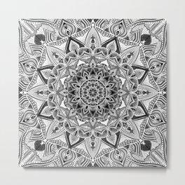 detailed mandala Metal Print