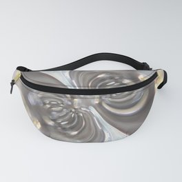 Magnetism - Abstract Art by Fluid Nature Fanny Pack