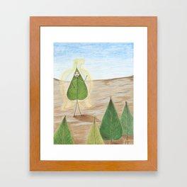 Shapeshifter Framed Art Print