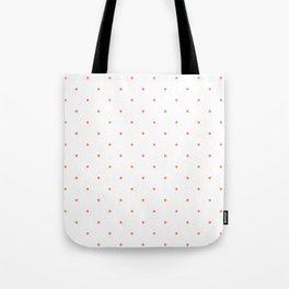 Pink Polka Dots Tote Bag