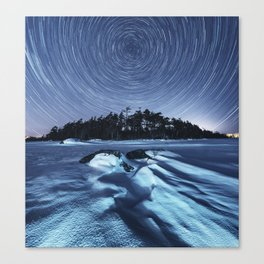 Lake of the Stars Canvas Print